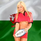 Am Supporting Wales
